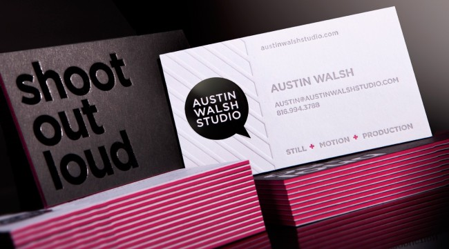One Intense Business Card