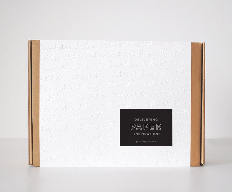 The Parcel - print and paper samples delivered to your doorstep
