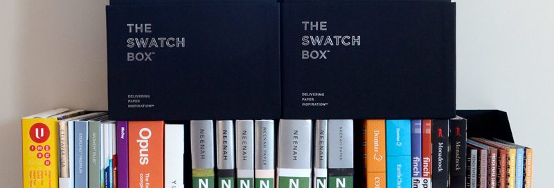 The Swatch Box, Swatch Books, Paper Samples - Parse & Parcel