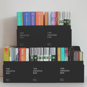 The Swatch Box - Complete Collection of Swatch Books & Paper Samples