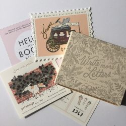 LETTERPRESS PAPERS AND ENVELOPES